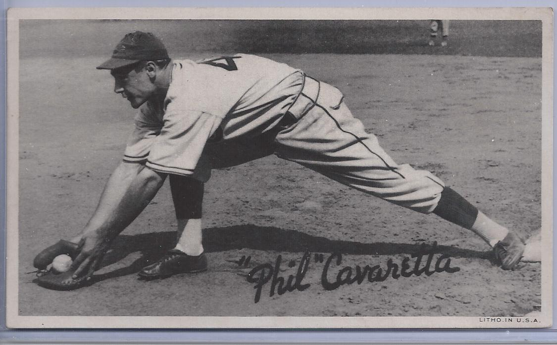 1936 Goudey Wide Pen Premiums R314 #A16 Phil Cavarretta