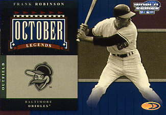 2004 Donruss World Series October Legends #7 Frank Robinson