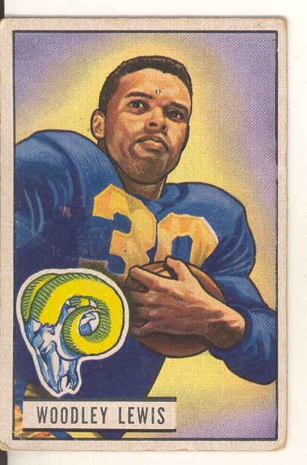 1951 Bowman #5 Woodley Lewis RC