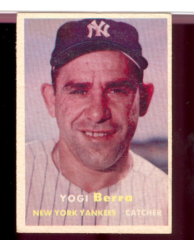 1957 Topps #2 Yogi Berra