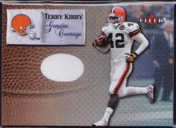 2000 Fleer Genuine Coverage Jersey, Terry Kirby