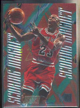 1995-96 Metal Scoring Magnets #4 Michael Jordan