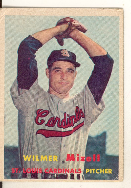 1957 Topps #113 Wilmer Mizell