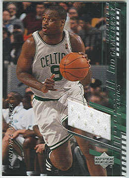 2000-01 Upper Deck Game Jerseys 1 #AWC Antoine Walker