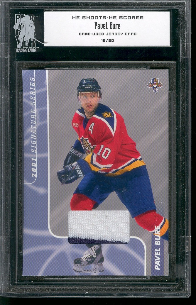 2000-01 BAP Signature Series He Shoots He Scores Prizes #1 Pavel Bure