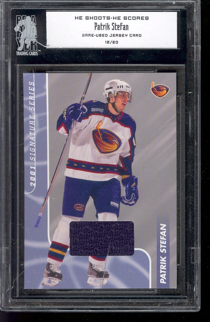 2000-01 BAP Signature Series He Shoots He Scores Prizes #16 Patrik Stefan
