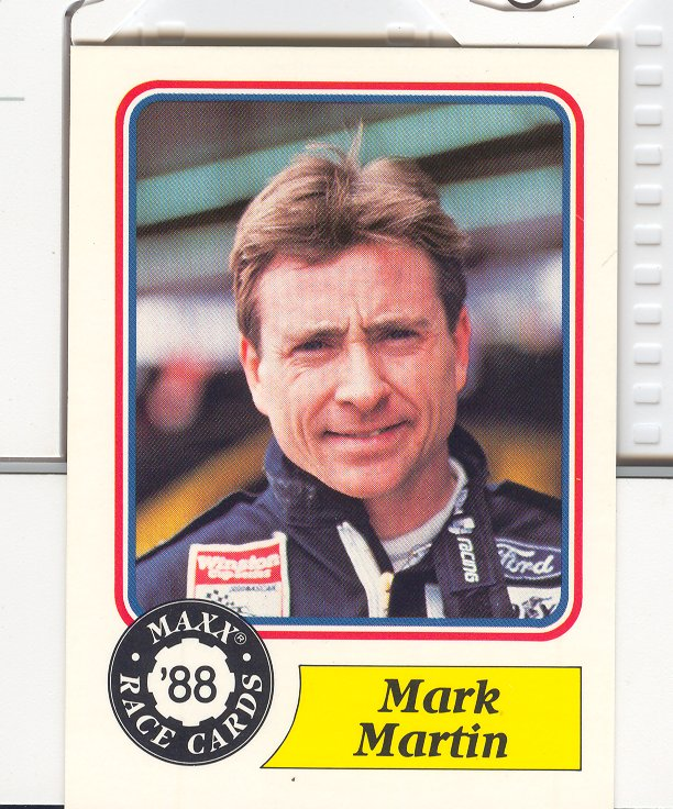 1988 Maxx Charlotte #48 Mark Martin RC