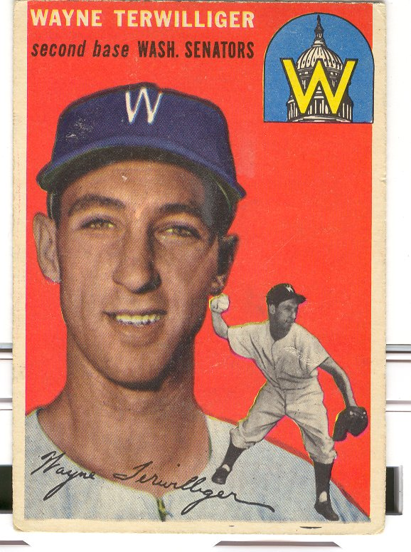 1954 Topps #73 Wayne Terwilliger front image