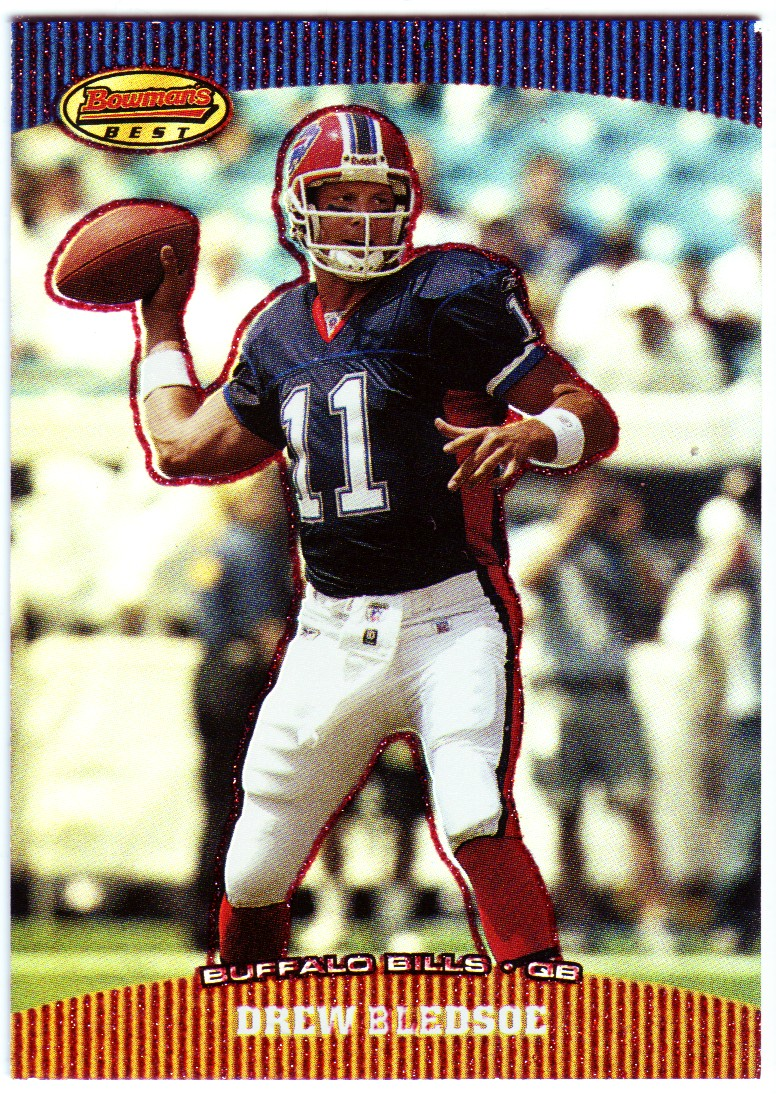 2004 Bowman's Best Red #53 Drew Bledsoe