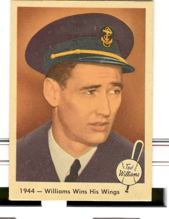 1959 Fleer Ted Williams #23 Williams Wins Wings
