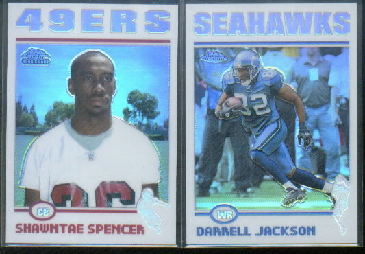2004 Topps Chrome Refractors #265 Shawntae Spencer