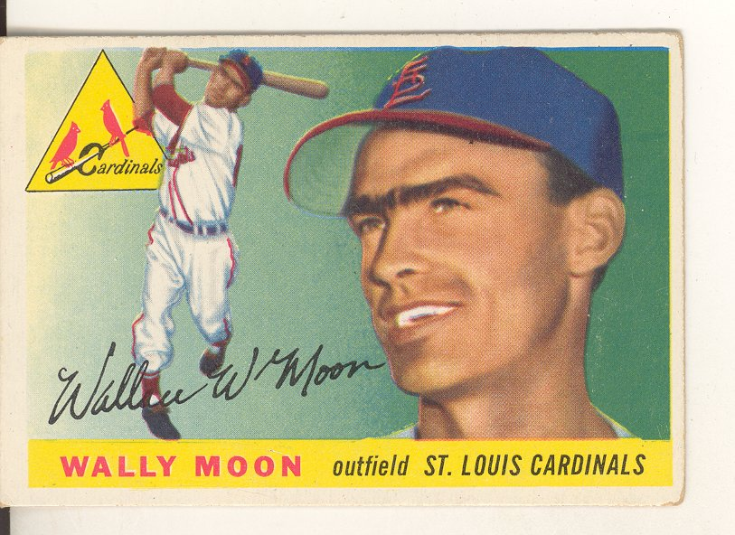 1955 Topps #67 Wally Moon