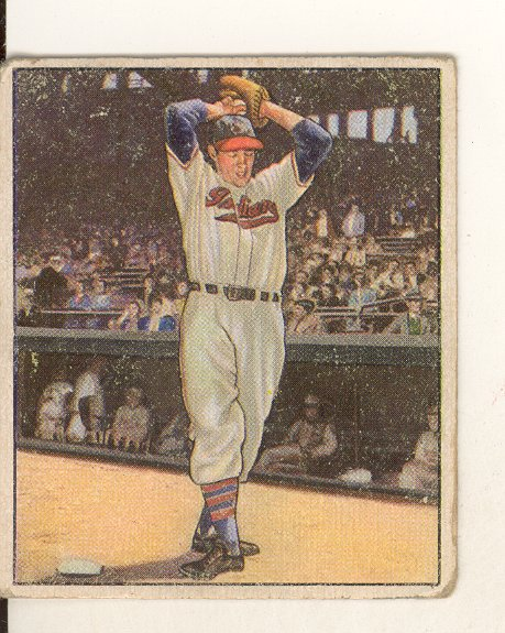 1950 Bowman #6 Bob Feller