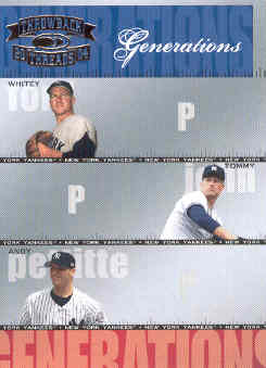 2004 Throwback Threads Generations #18 Ford/John/Pettitte
