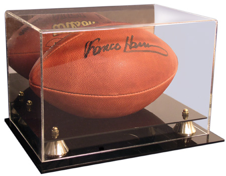 Image Guard Deluxe Acrylic Football Display Case