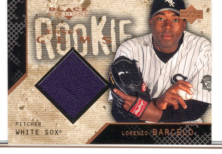 2000 Black Diamond Rookie Edition #135 Lorenzo Barcelo JSY RC