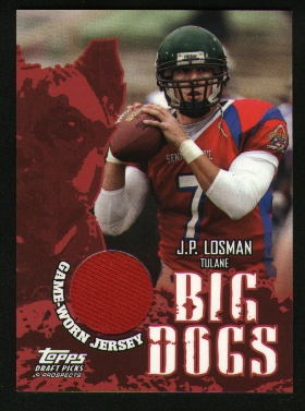 2004 Topps Draft Picks and Prospects Big Dog Relics #BDJPL J.P. Losman C