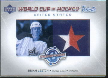 2004-05 Upper Deck World Cup Tribute #BL Brian Leetch