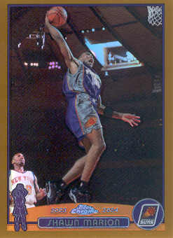 2003-04 Topps Chrome Refractors Gold #28 Shawn Marion