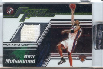 2004-05 Topps Pristine Fantasy Favorites Refractors #NM Nazr Mohammed
