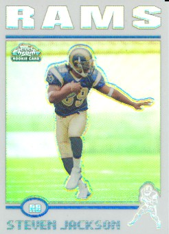 2004 Topps Chrome Refractors #180 Steven Jackson