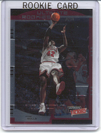 1999/2000 Upper Deck Ultimate Victory Elton Brand Rookie Card