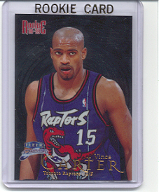 1998/99 Fleer Brilliants Vince Carter Rookie