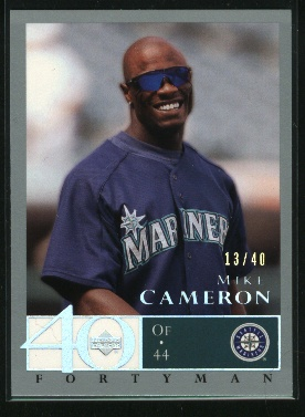 2003 Upper Deck 40-Man Rainbow #145 Mike Cameron