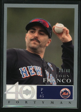 2003 Upper Deck 40-Man Rainbow #616 John Franco