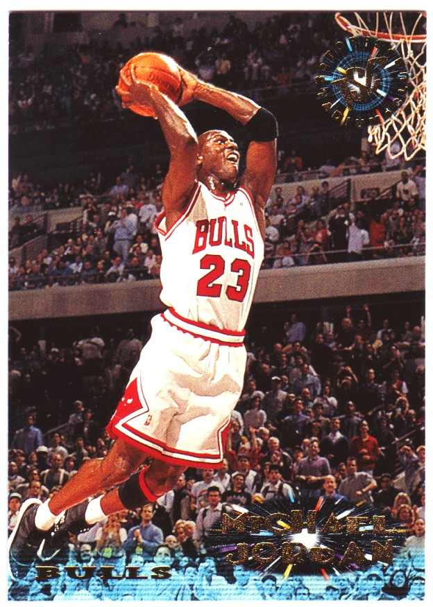 1995-96 Stadium Club #1 Michael Jordan