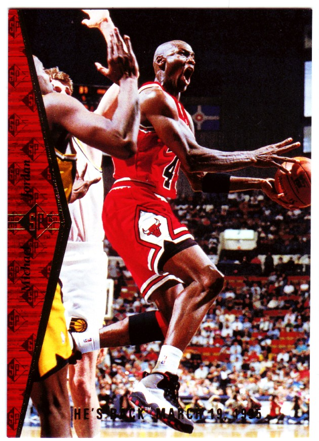 1994-95 SP #MJ1R Michael Jordan Red