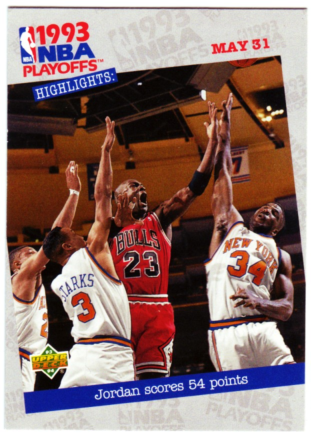 1993-94 Upper Deck #193 Michael Jordan PO