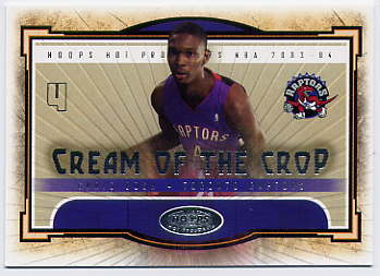 2003-04 Hoops Hot Prospects Cream of the Crop #3 Chris Bosh