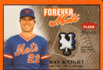 2004 Greats of the Game Forever Game Jersey #RK Ray Knight SP EXCH