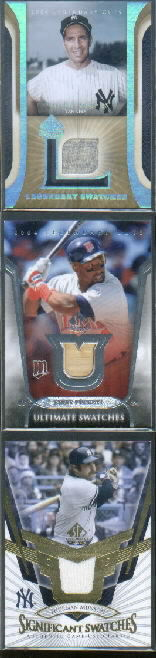 2004 SP Legendary Cuts Ultimate Swatches #KP Kirby Puckett Bat