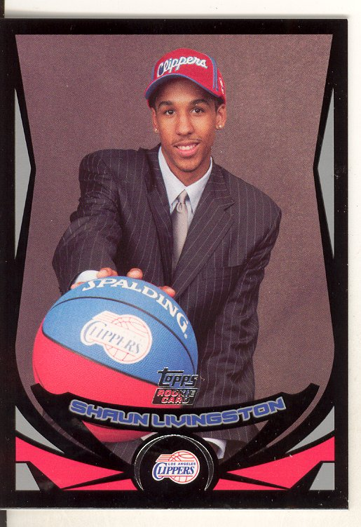 2004-05 Topps Black #224 Shaun Livingston