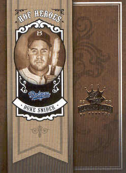 2005 Diamond Kings HOF Heroes #35 Duke Snider