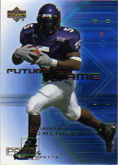 2001 Upper Deck Pros and Prospects Future Fame #F4 LaDainian Tomlinson