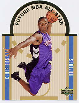 2003-04 Upper Deck SE Die Cut Future All-Stars #E12 Chris Bosh
