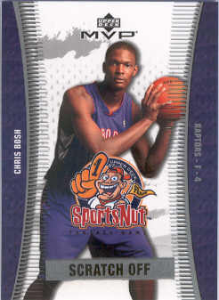 2003-04 Upper Deck MVP Sportsnut Fantasy #SN87 Chris Bosh