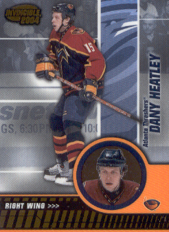 2003-04 Pacific Invincible #4 Dany Heatley