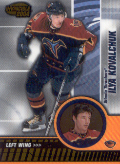 2003-04 Pacific Invincible #5 Ilya Kovalchuk
