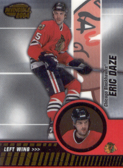 2003-04 Pacific Invincible #17 Eric Daze