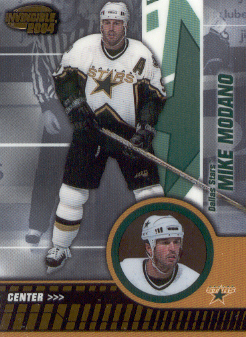 2003-04 Pacific Invincible #30 Mike Modano