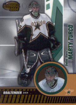 2003-04 Pacific Invincible #31 Marty Turco