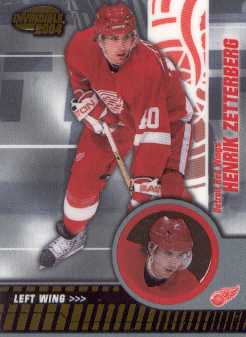 2003-04 Pacific Invincible #37 Henrik Zetterberg