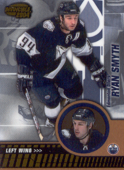 2003-04 Pacific Invincible #40 Ryan Smyth