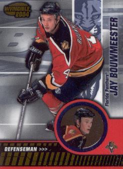 2003-04 Pacific Invincible #41 Jay Bouwmeester