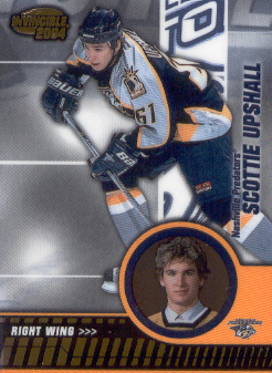 2003-04 Pacific Invincible #53 Scottie Upshall