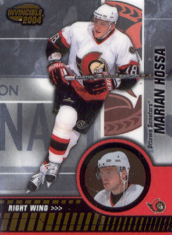 2003-04 Pacific Invincible #69 Marian Hossa